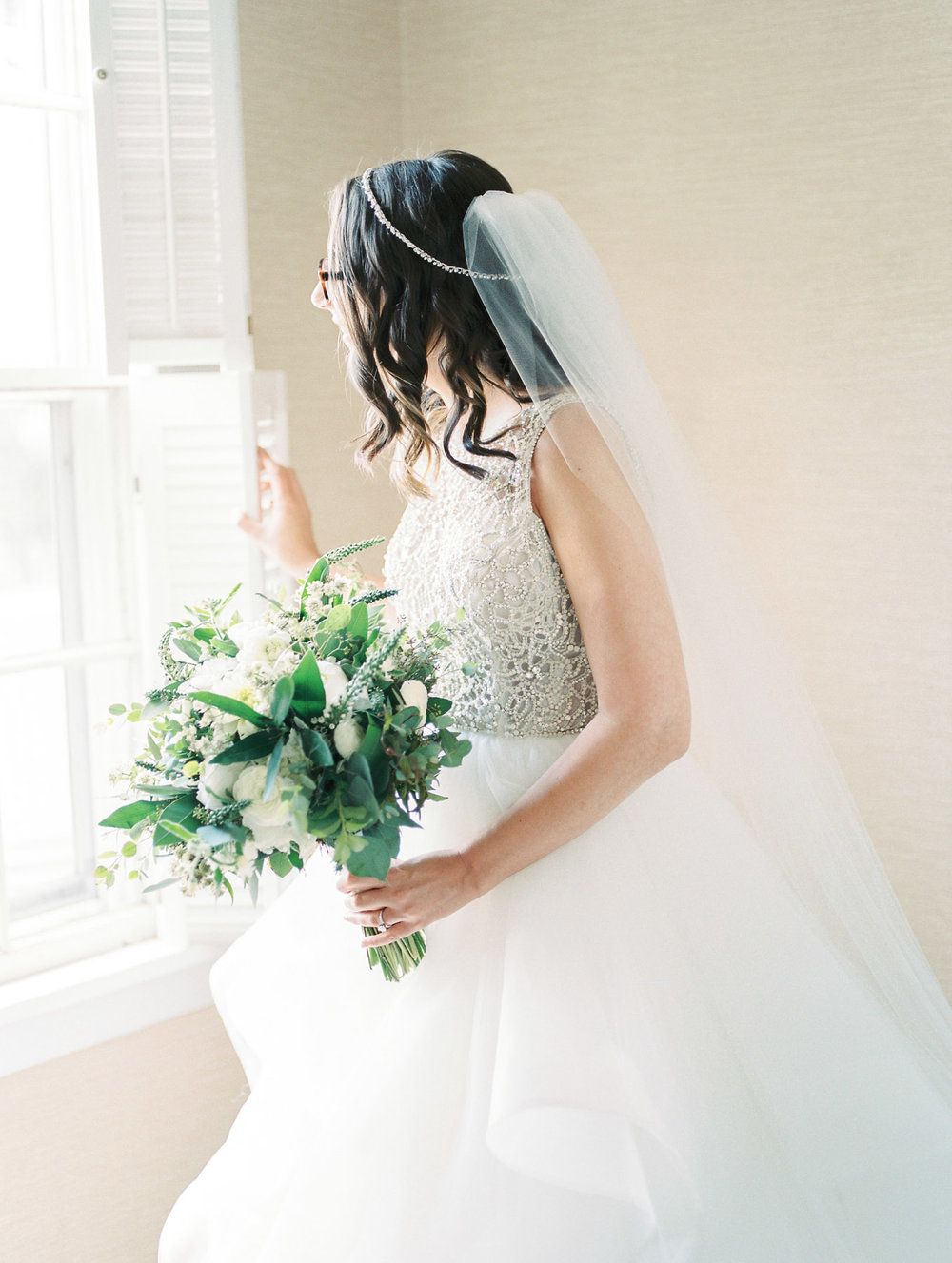 The Ryland Inn Bridal Portrait