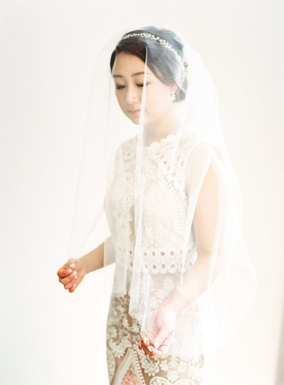 Bridal Portrait BHLDN Gown