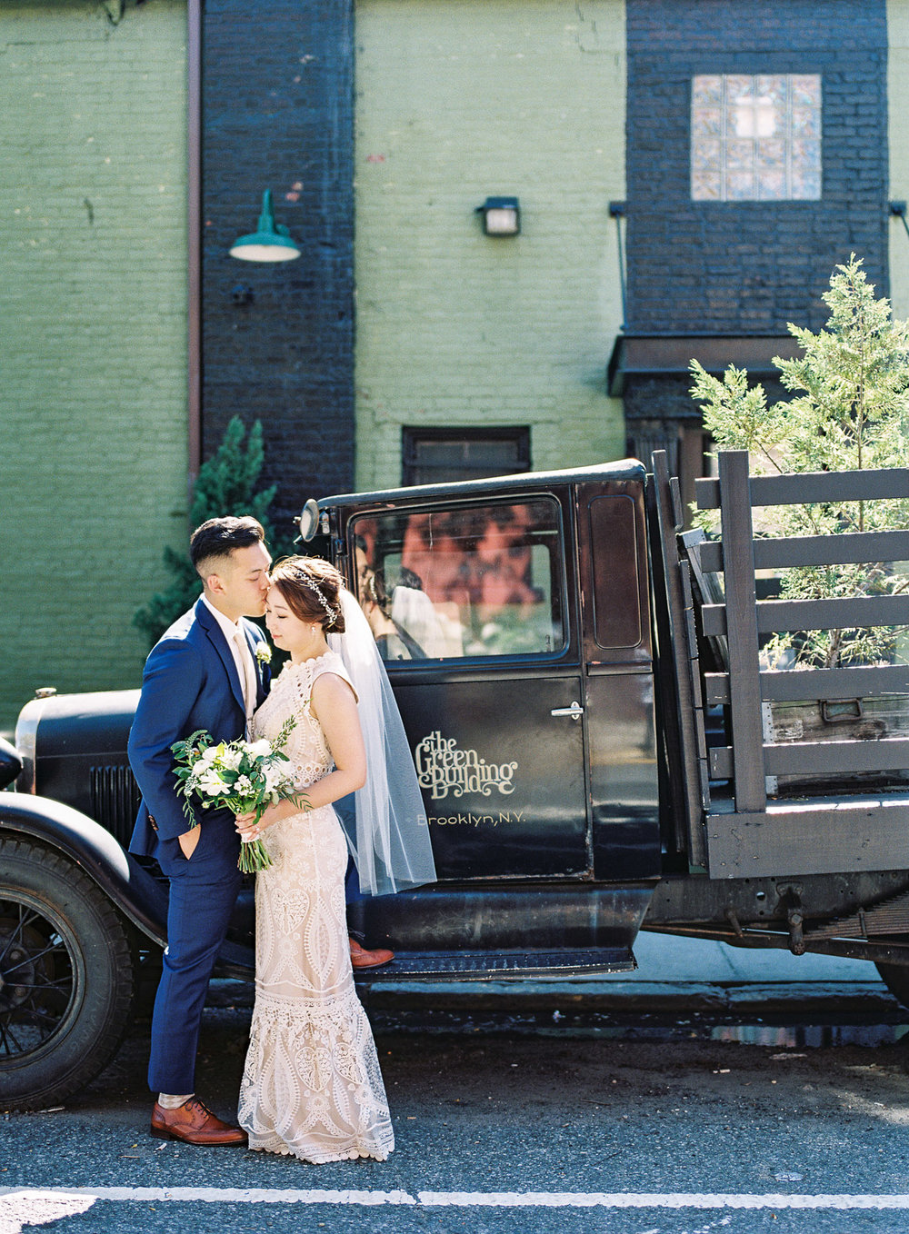 The Green Building Wedding Photography