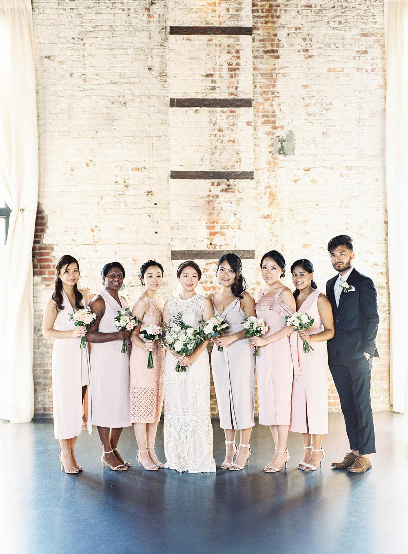 Bridesmaids at The Green Building