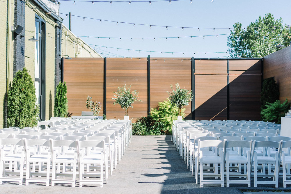 The Green Building Outdoor Ceremony