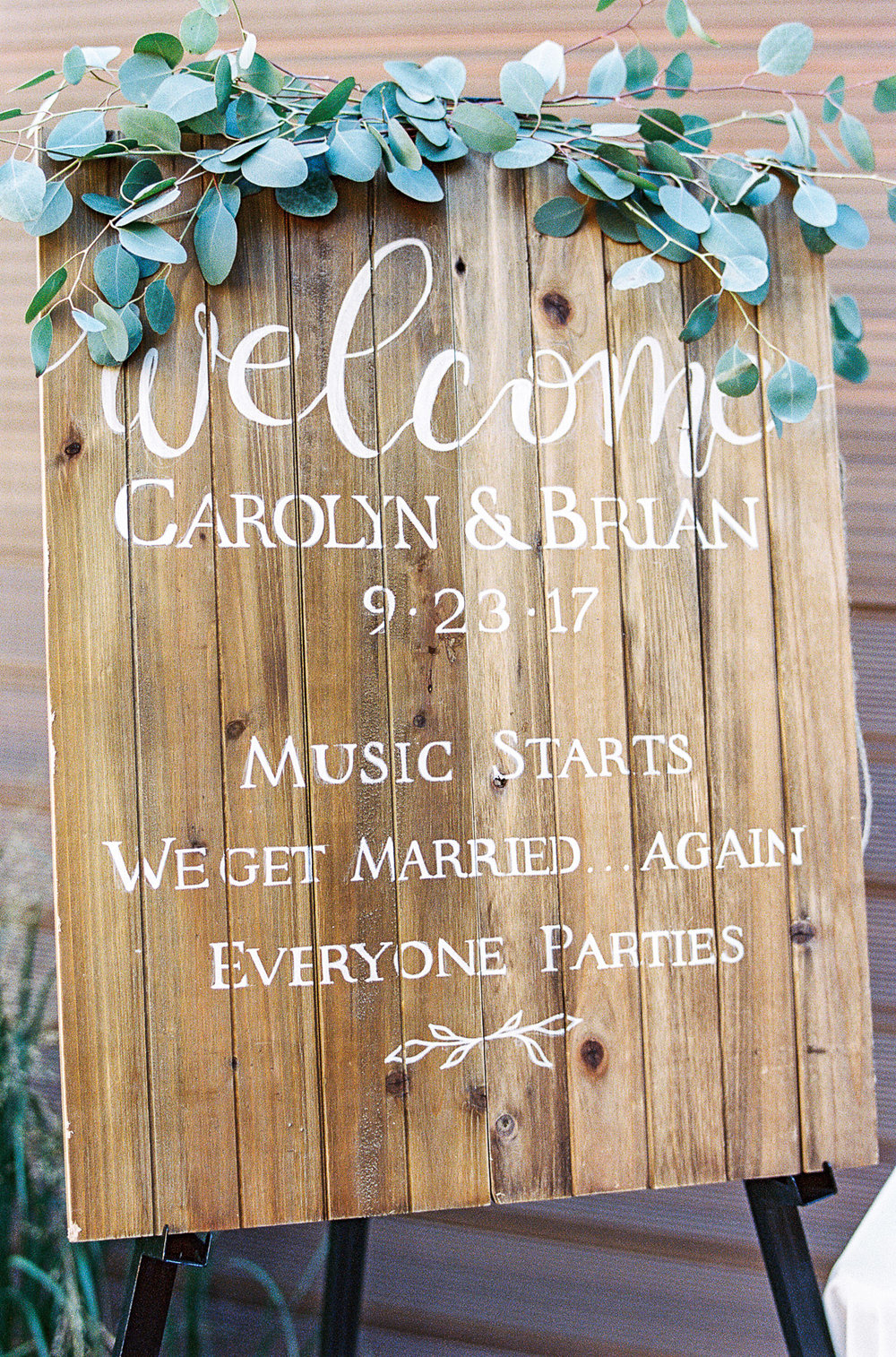 The Green Building Wedding Details