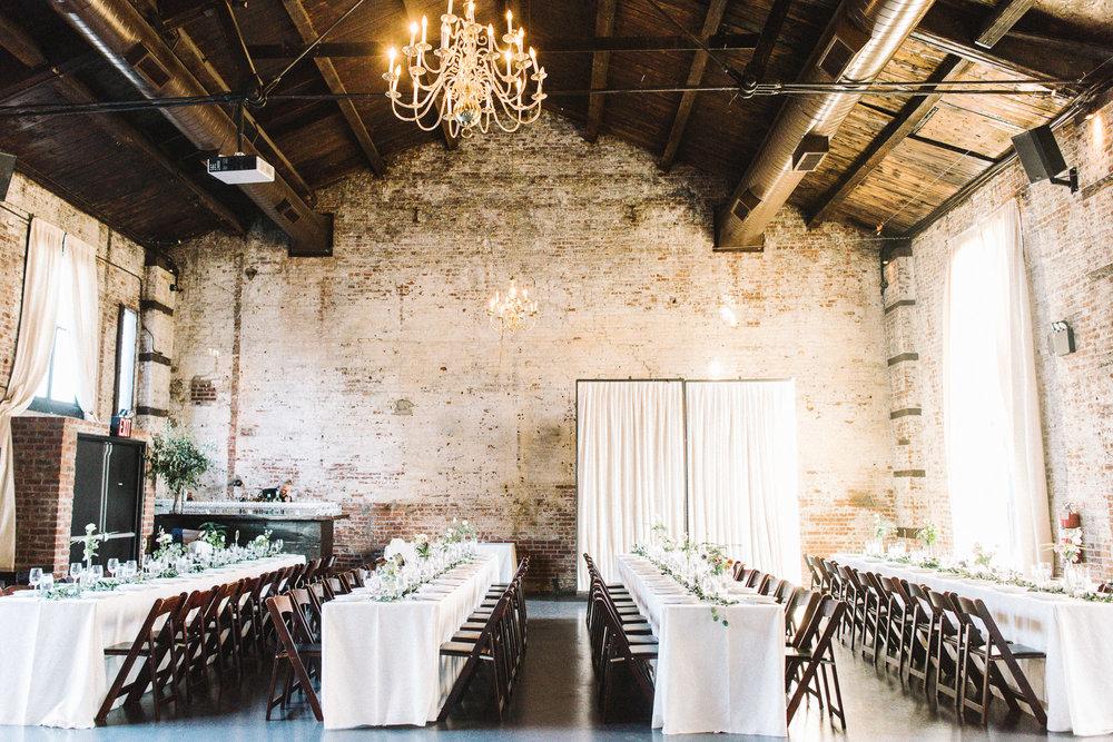 The Green Building Wedding Reception