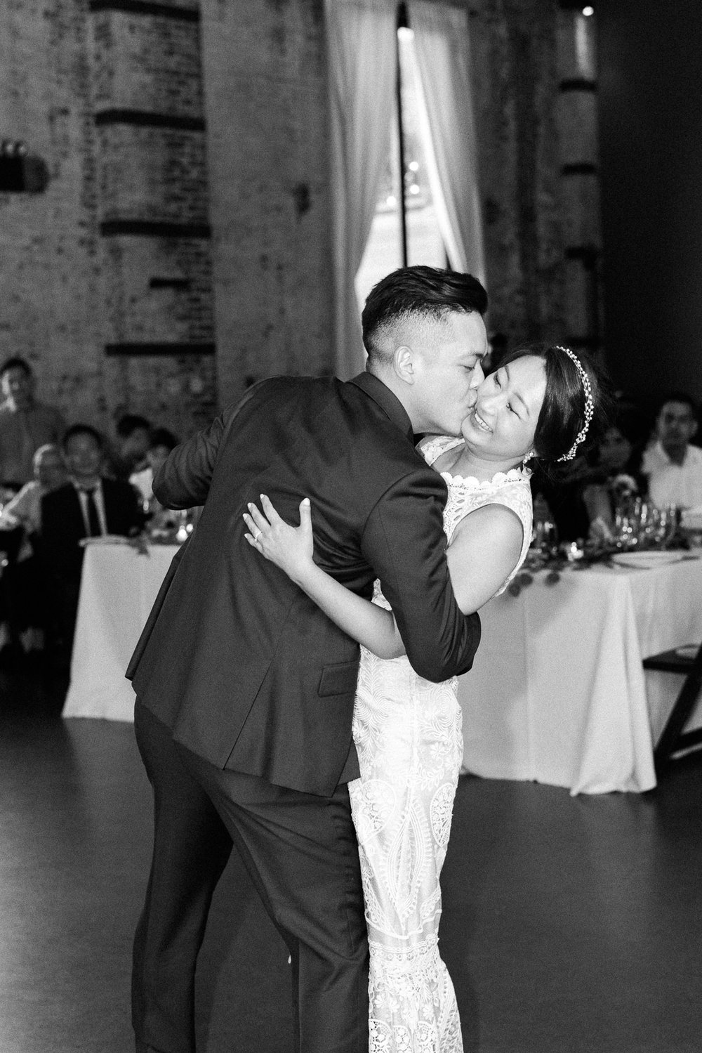 First dance at The Green Building