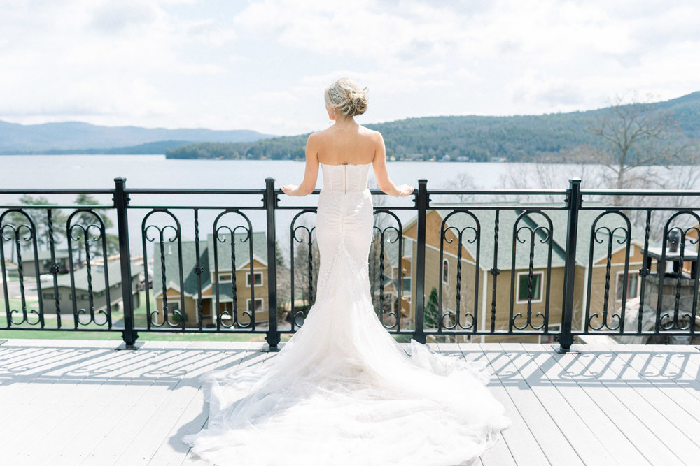 Inbal Dror Wedding Gown Lake George, NY