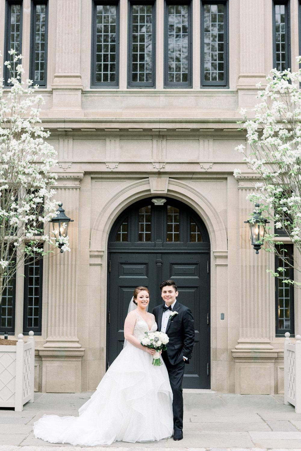 Bride and Groom at Natirar