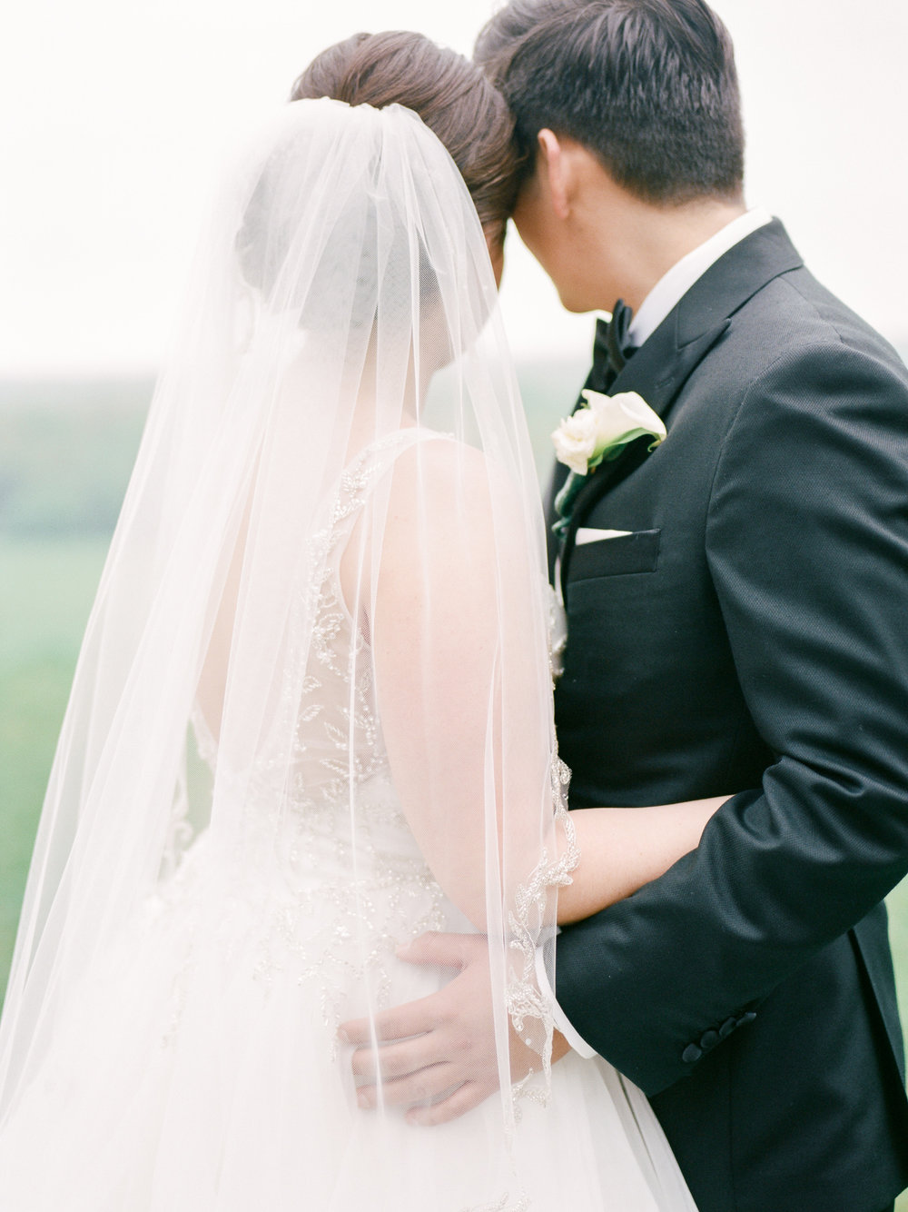 Bride and Groom Detail Portrait