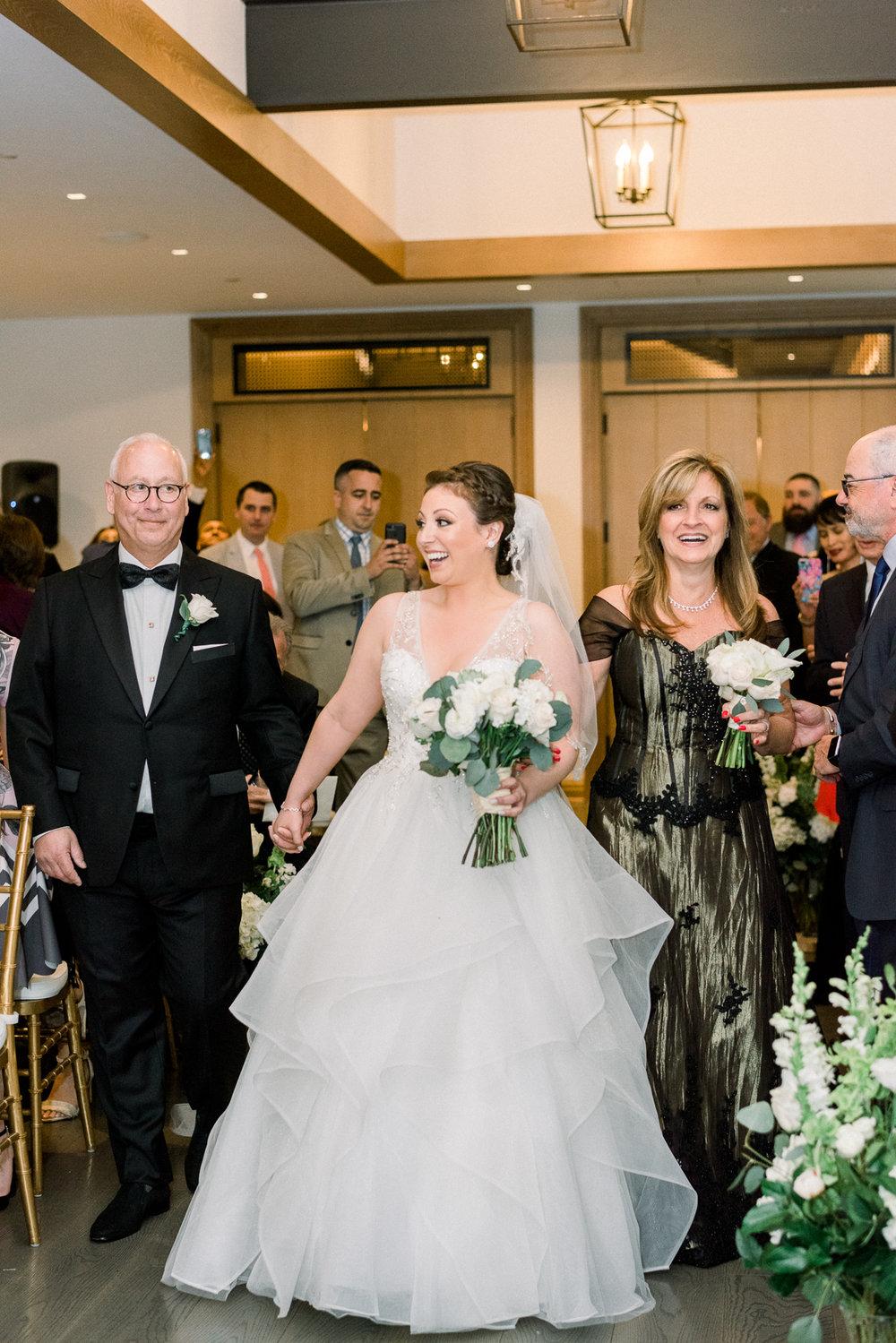 Indoor Ceremony at NJ Wedding