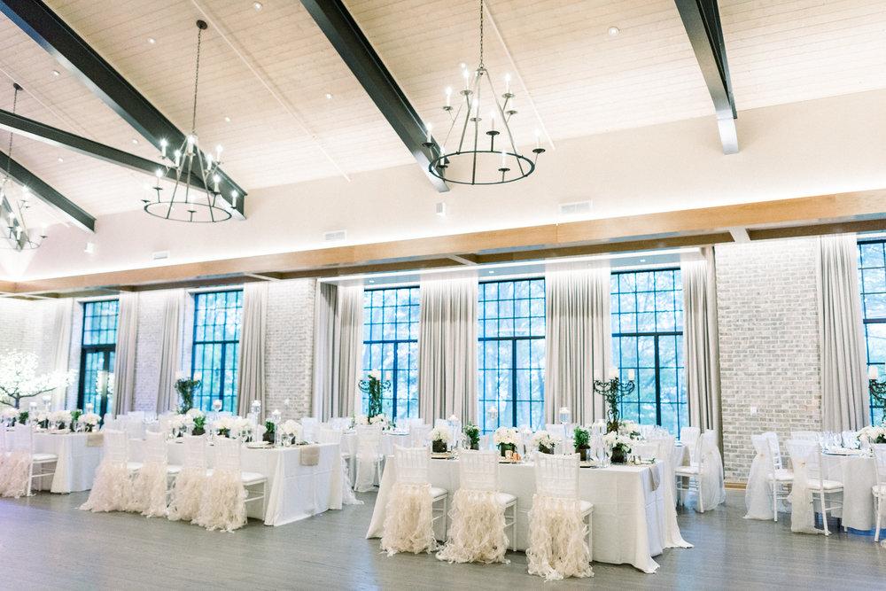 Indoor Ballroom at Natirar Mansion by Warren County Events