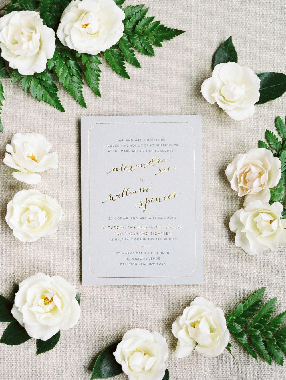 Wedding Invitation by Jenny C Design