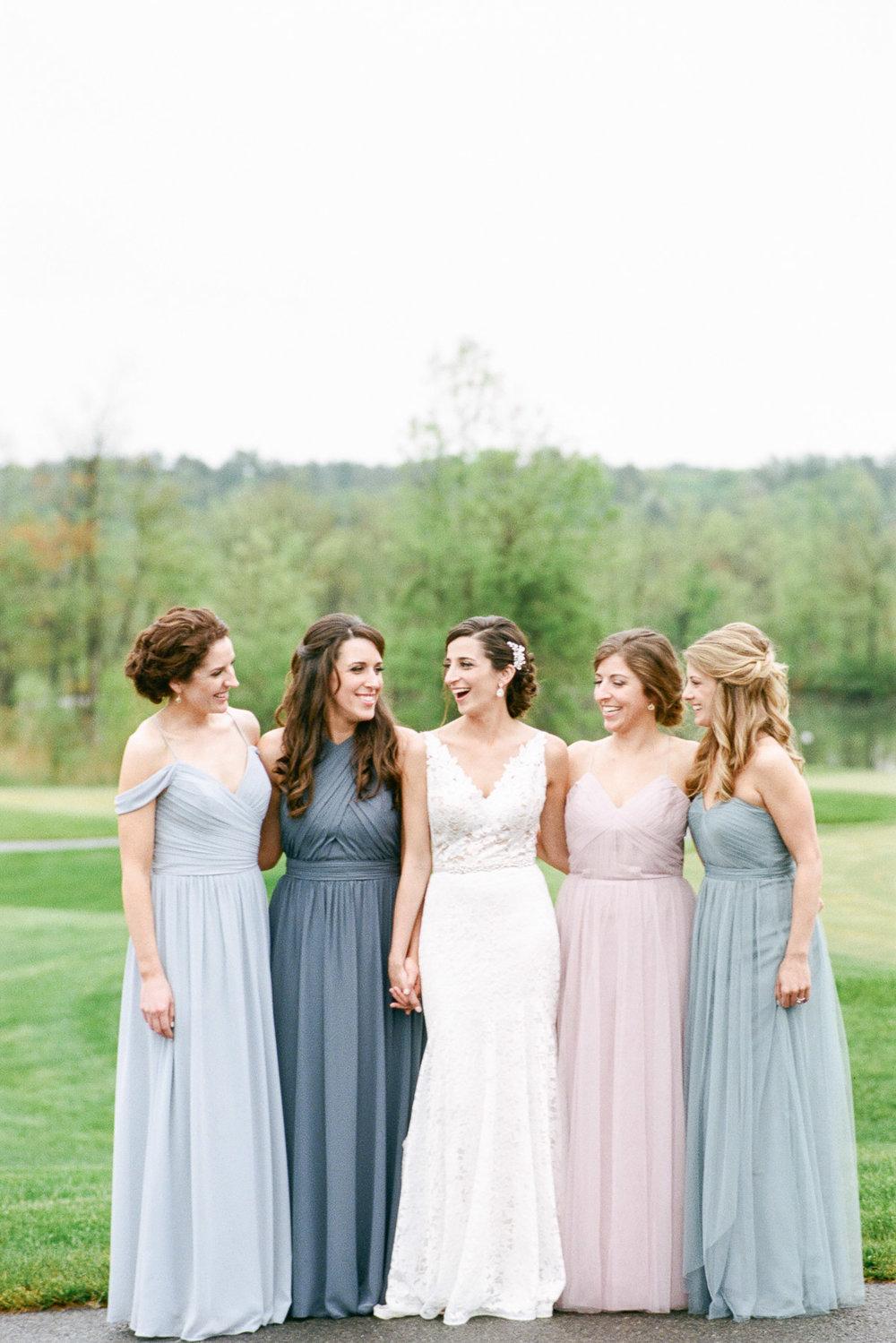 Bridesmaids at Saratoga National