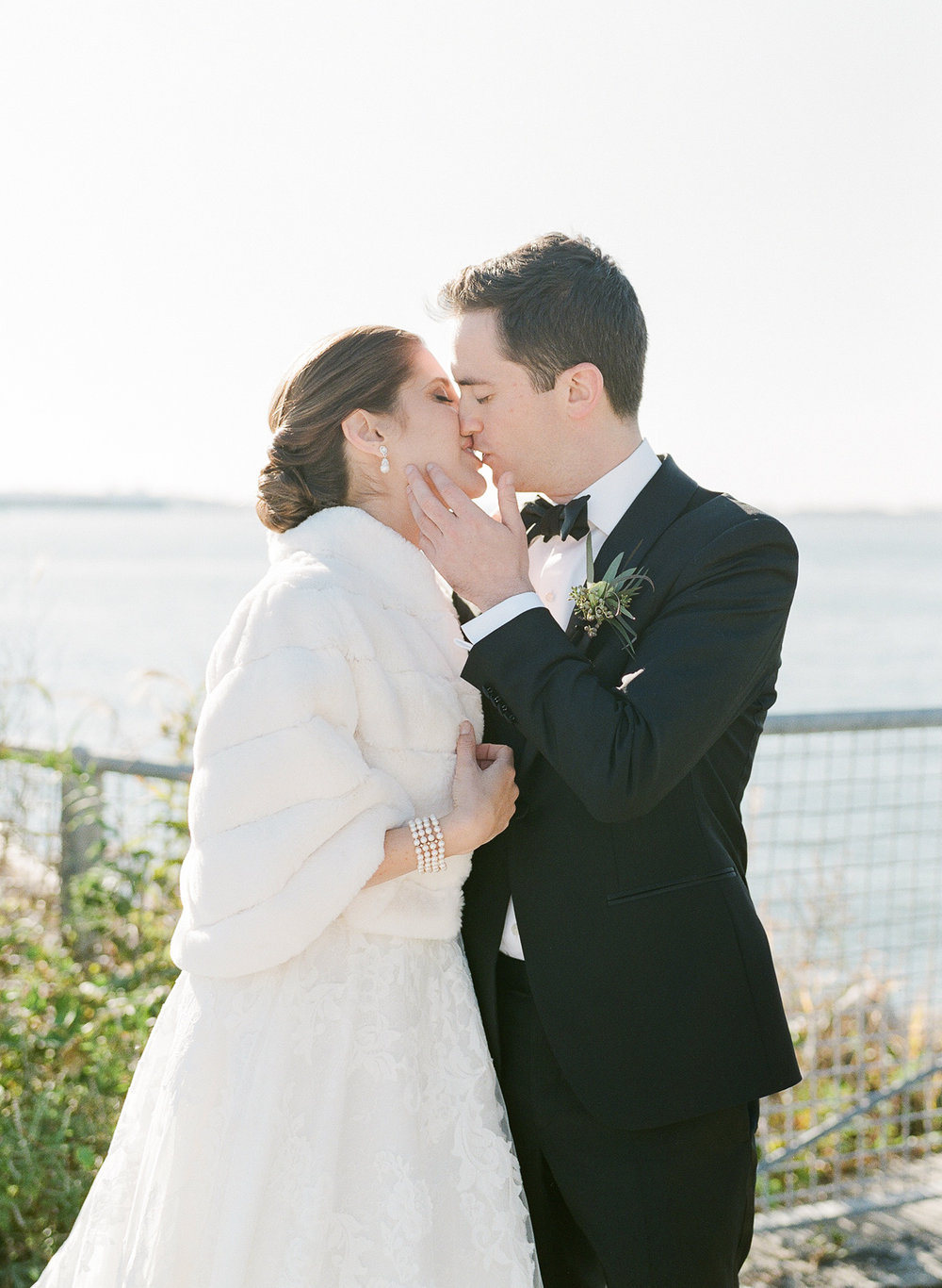 Brooklyn Bride and Groom Portraits