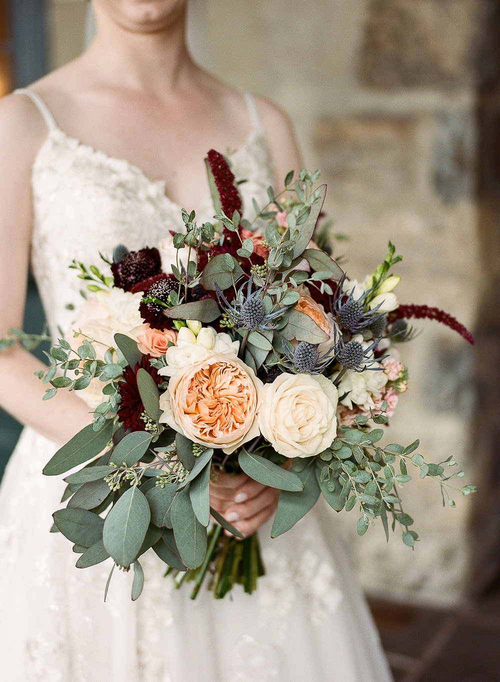 Stunning Bouquet for Fall Wedding in NY