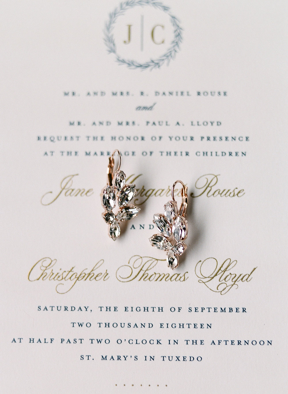 Hudson Paperie Wedding Invitation