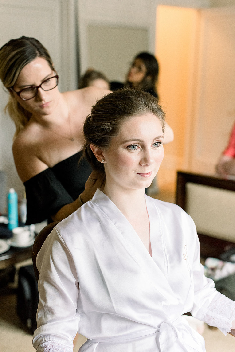 Bride Getting Ready by Beauty by Amy Elizabeth