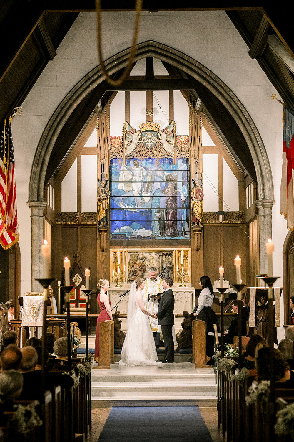 St. Mary's Tuxedo Park NY Church Wedding