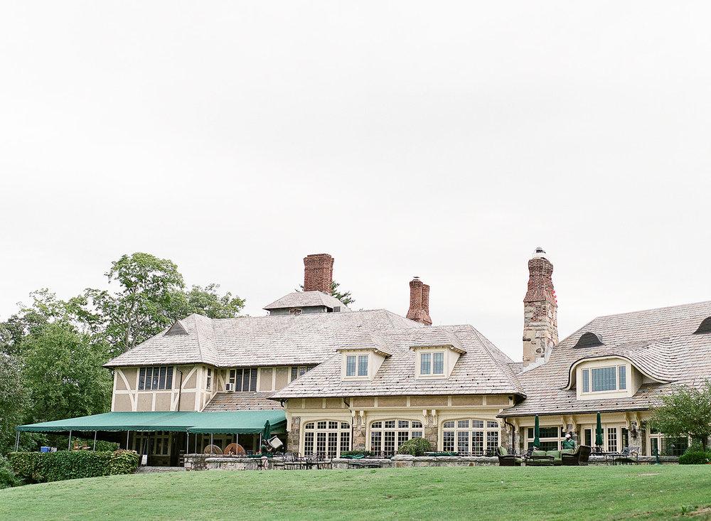 Tuxedo Park Exterior Wedding Venue NY