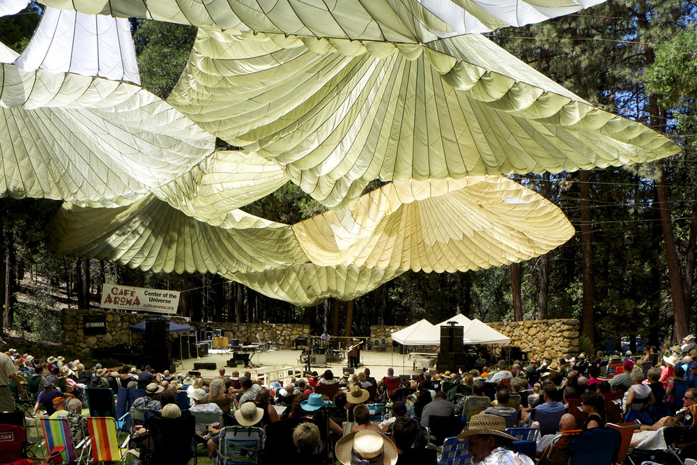 Pines, Parachutes and Jazz, what could be better?