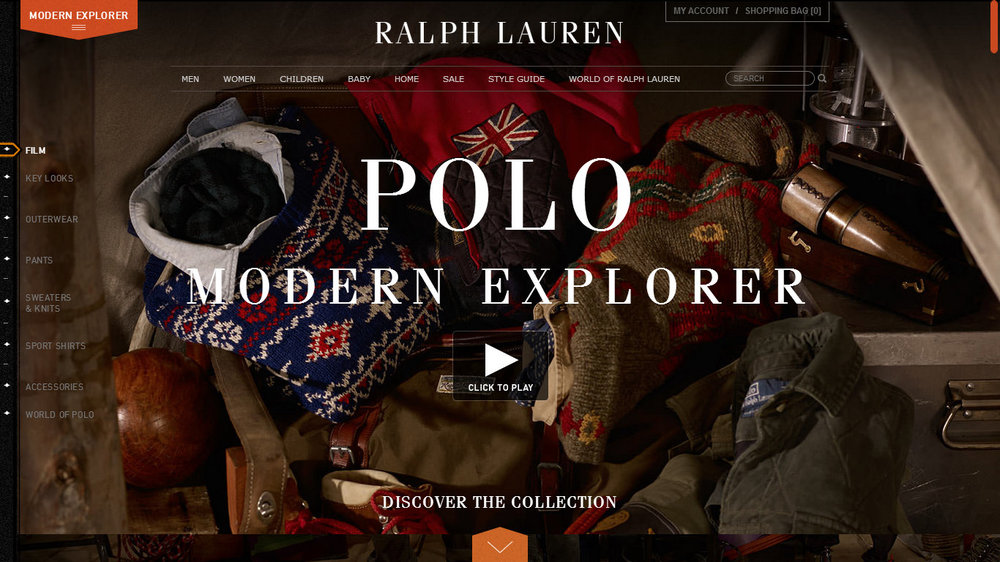 Photos courtesy of Ralph Lauren.