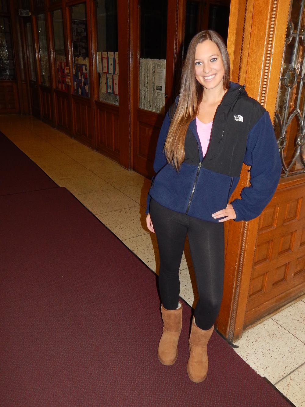 terrible trends: the gonzaga girl winter uniform — the BEAU