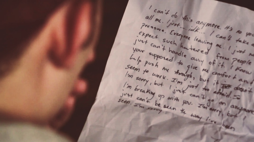 """Stills from """"Words"""""""