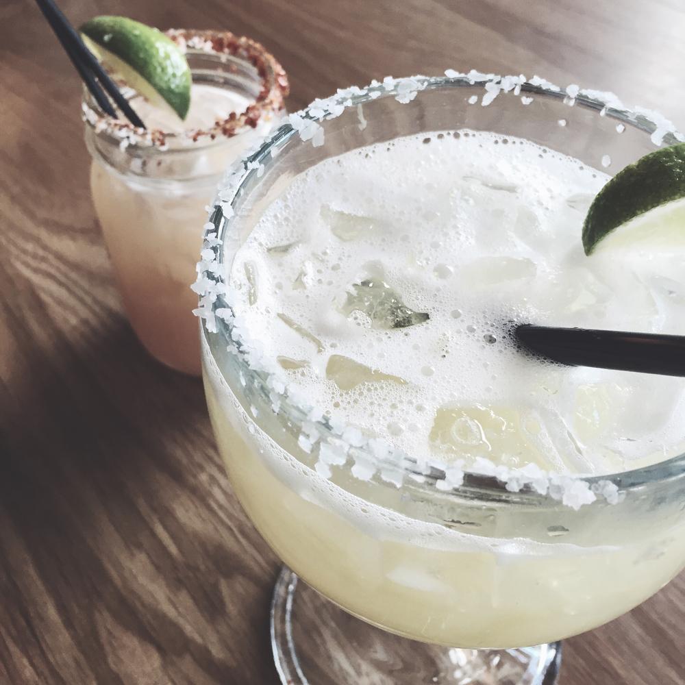 Margaritas at Cha Cha Cha!
