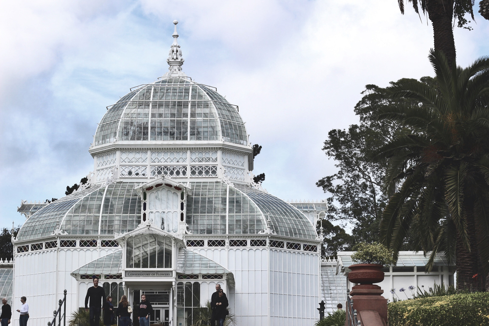 Conservatory of Flowers at Golden Gate Park