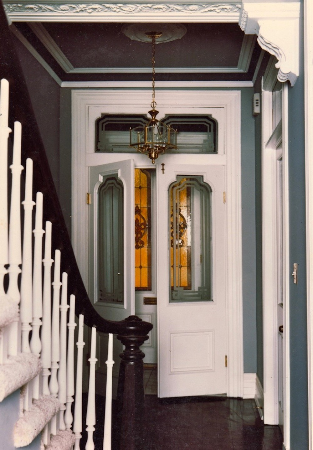 entry double door interior heritage railing stair.jpeg