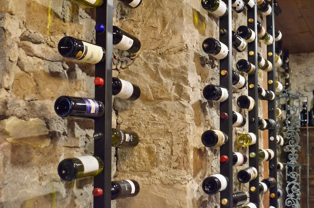 farmhouse stone wine cellar bottle storage.jpeg