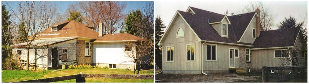 Before and after 2nd storey addition stone farmhouse.jpg
