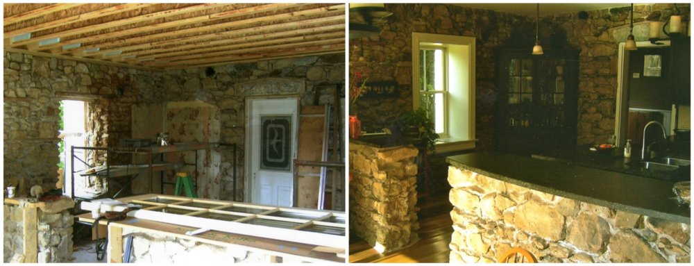 Before and after stone house kitchen.jpg