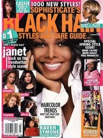 Sophisticate's Black Hair Magazine March/April 2008