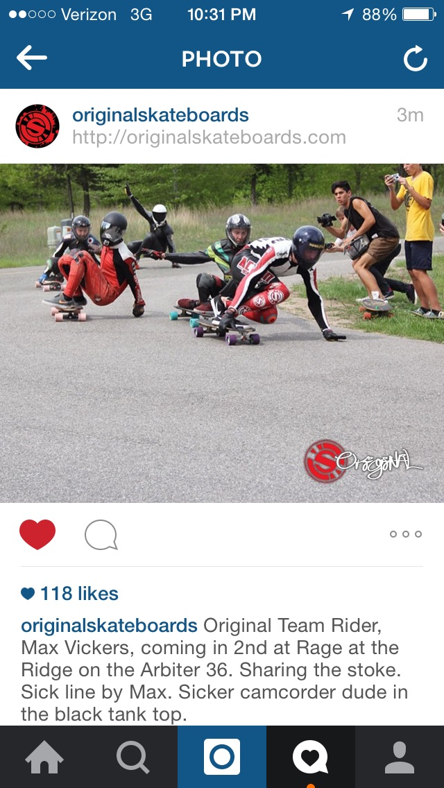 Griffin got a shoutout on the Original Instagram while stacking clips and wearing a proto