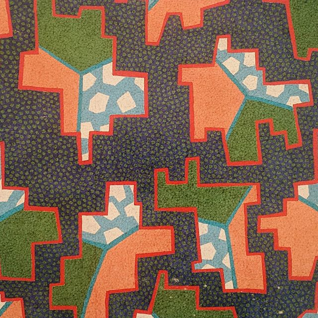 'floating' - carpet design by Natalie Du Pasquier & George Sowden for Steele's Carpets (early 1980s)