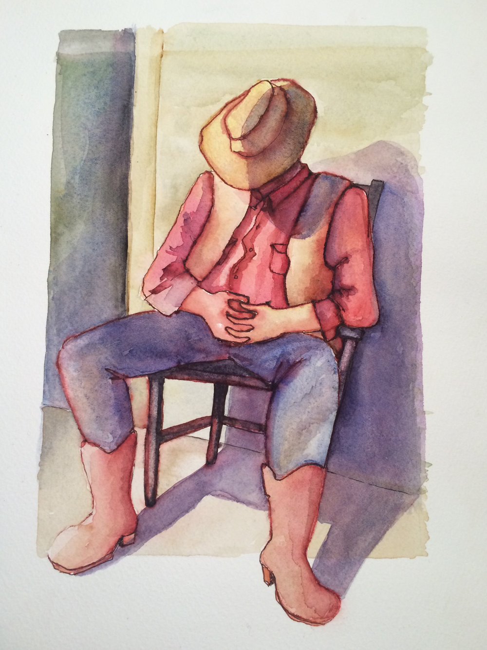 Ramon, 2015, Watercolour