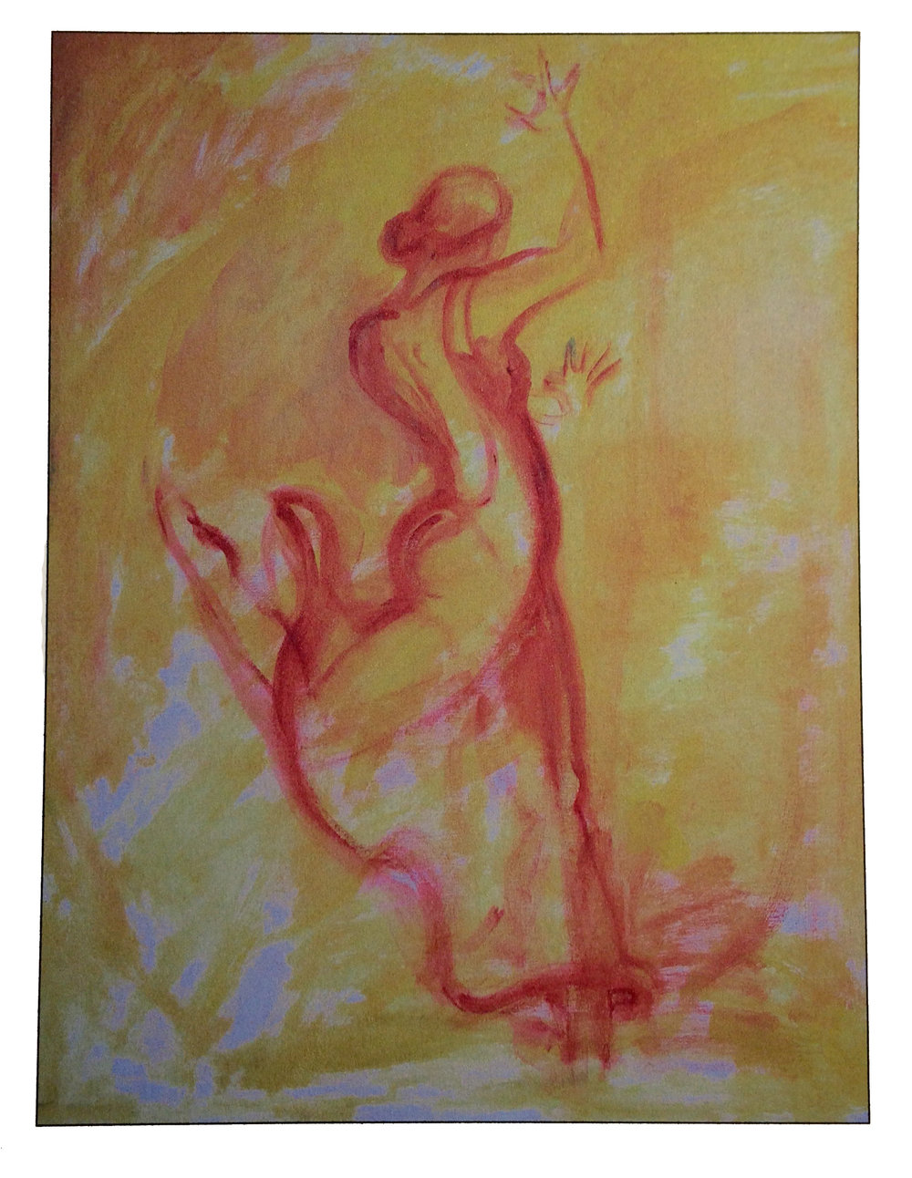 Dancer, 2010, Acrylic
