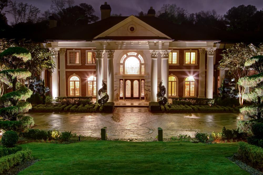 house facade and west garden night.jpg