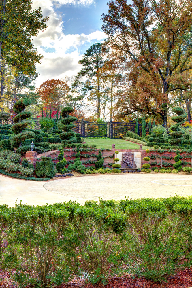 front drive espalier and west gardens detail.jpg