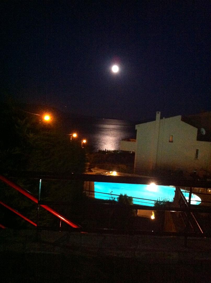 Condos at Night.JPG