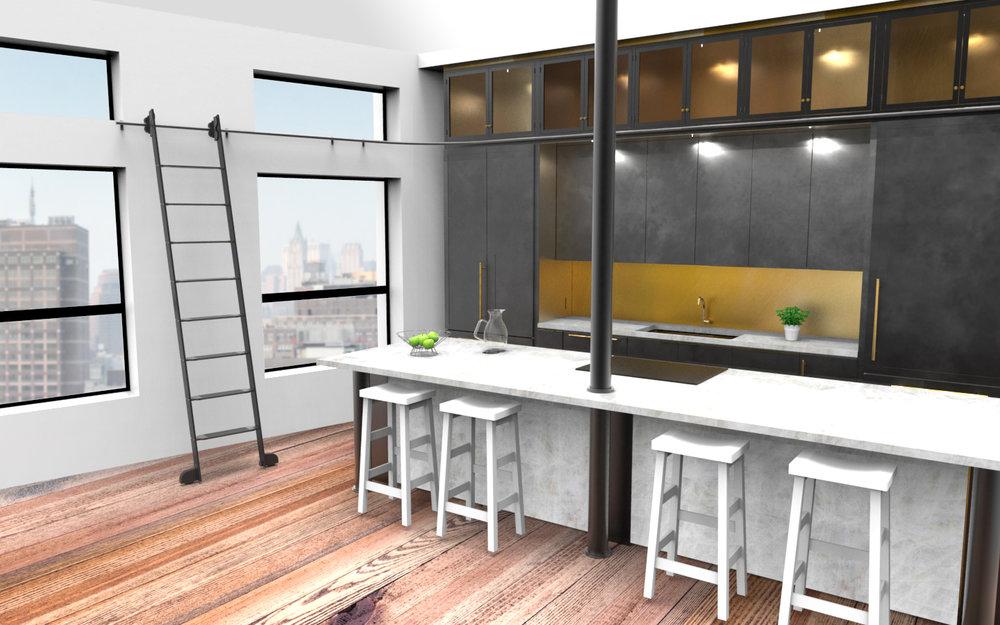 Architectural Renderings — Yoshi Araki