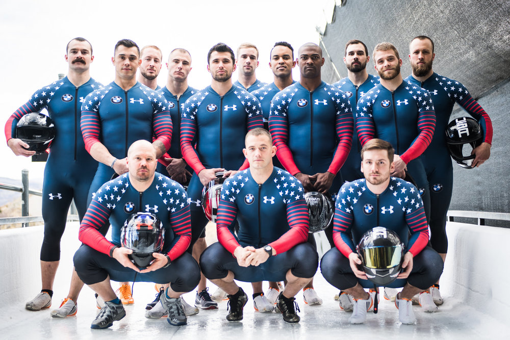 2016-2017 MENS BOBSLED TEAM SHOTS