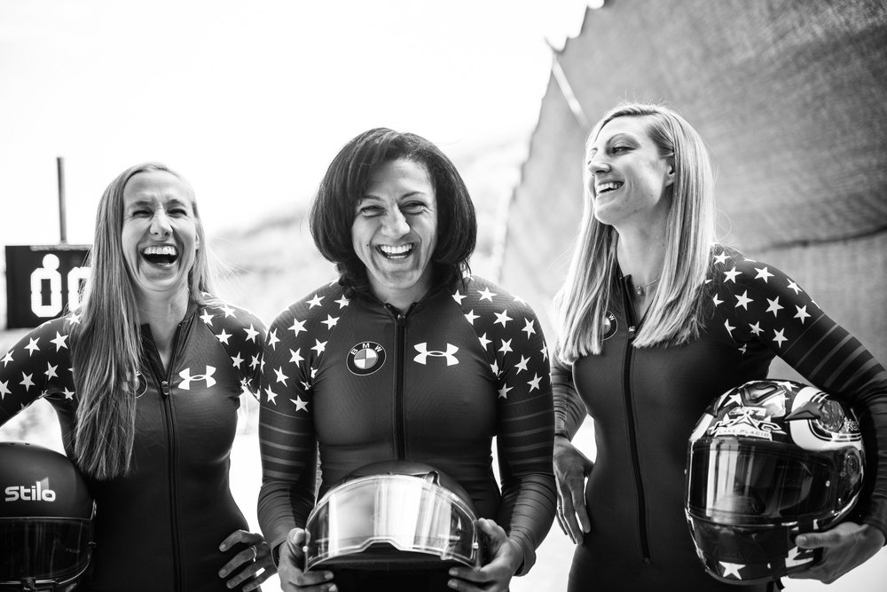 2016-  2017   WOMENS BOBSLED TEAM SHOTS