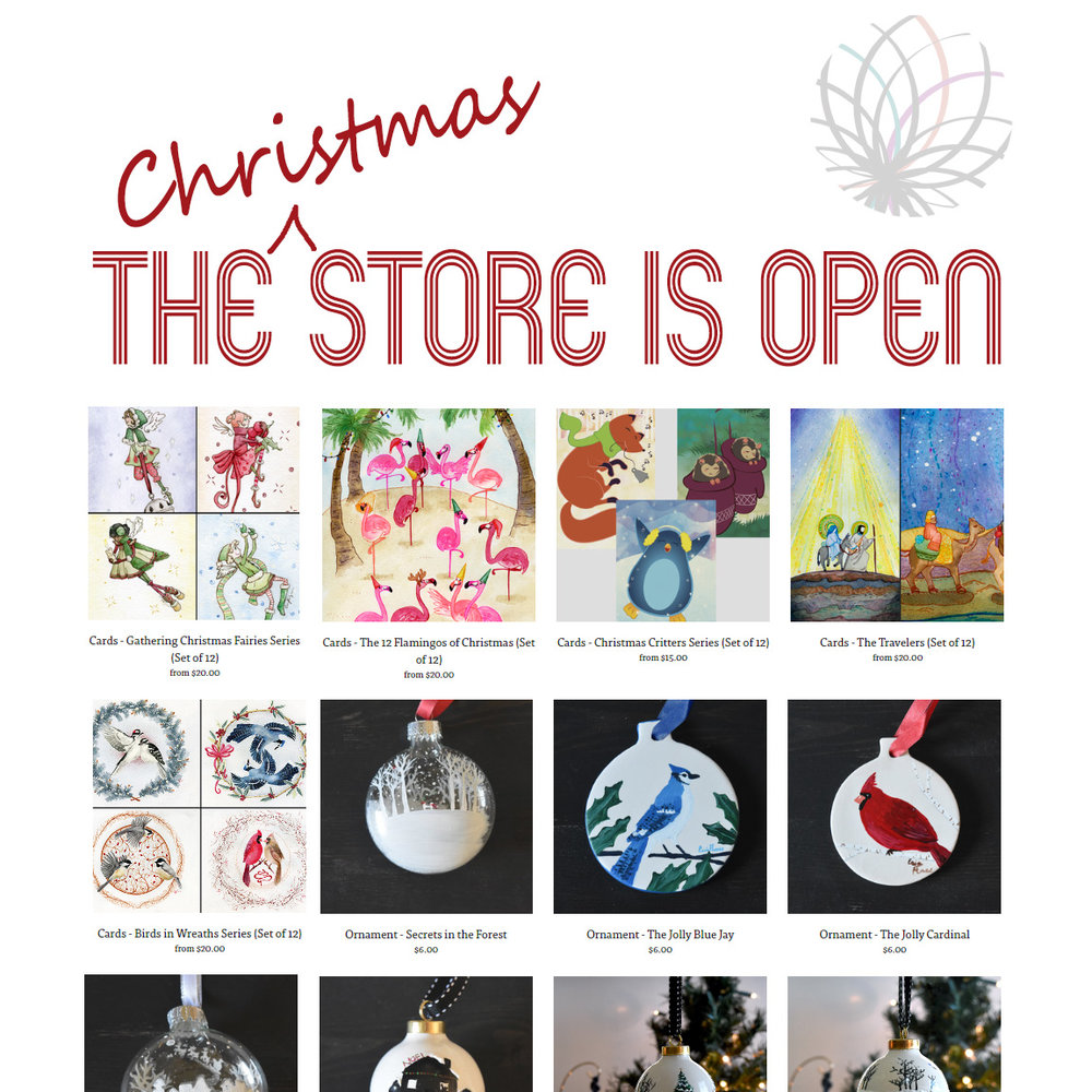 ON SALE - Christmas Cards and Ornaments — RelyeaArts