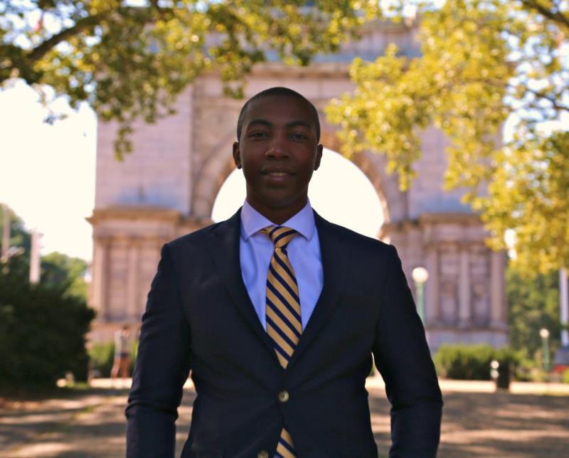 Pictured: D.R.E.A.M. CFO, Edward Jean-Louis