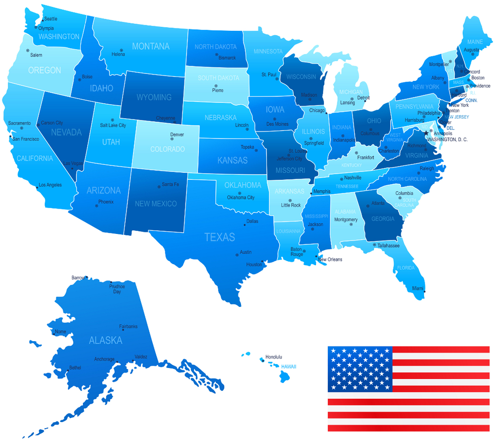 Top States For Financial Literacy DREAM - Us literacy map