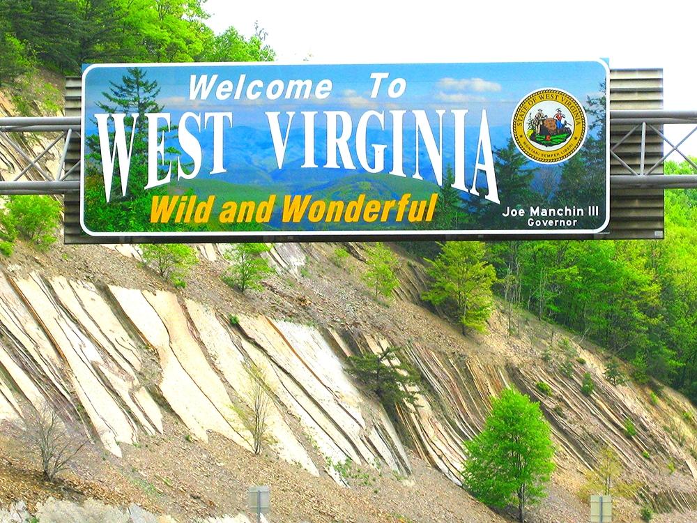 5. West Virginia