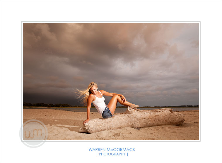Kayla Mikolajewski, Senior Portrait, Bald Head Island NC, Senior Portraits by Warren McCormack Photography