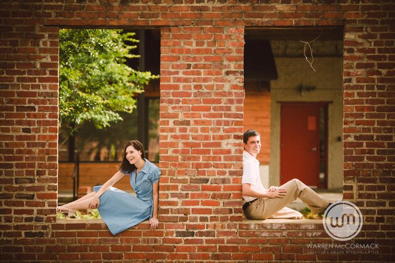 Elizabeth and Ryan, Engagement Session, Brightleaf Square, Durham NC, Durham Engagement Photography, Warren McCormack