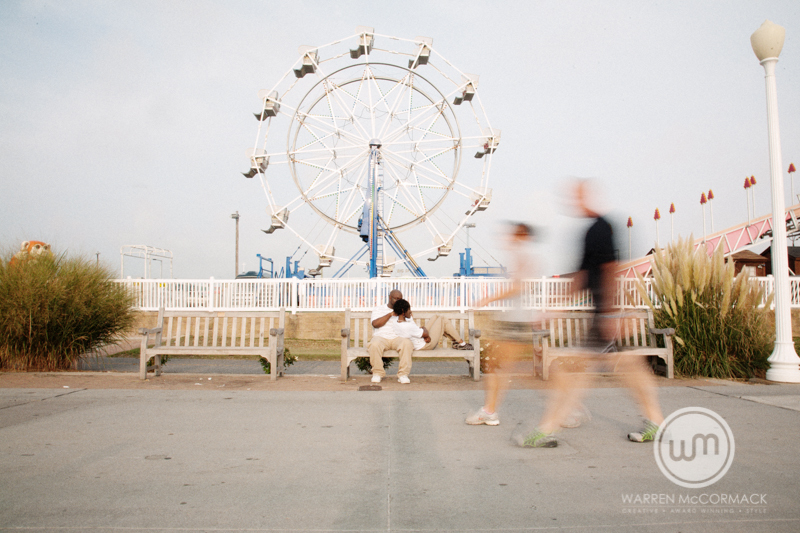 Erika and Andretti, Destination Engagement Session, Atlantic Beach VA, Atlantic Beach Engagement Photography, Warren McCormack Photography