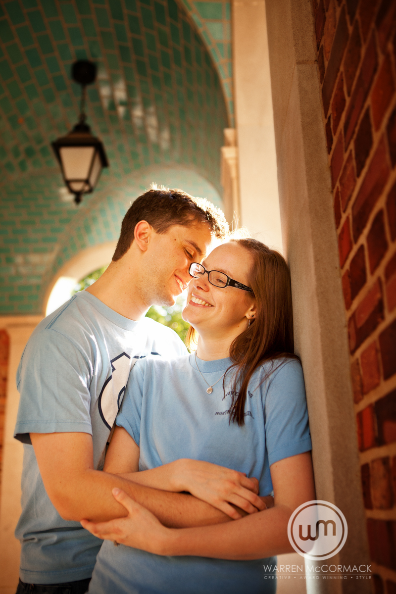 Paige and Hugh, Chapel Hill Engagement Photography, Warren McCormack Photography